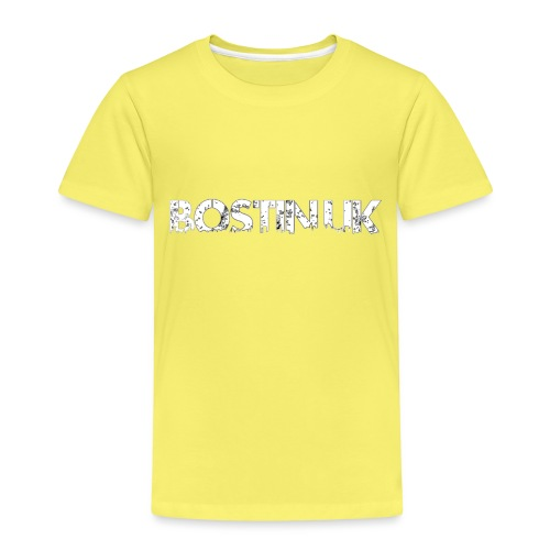 bostin uk white - Kids' Premium T-Shirt