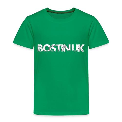 bostin uk white - Kids' Premium T-Shirt