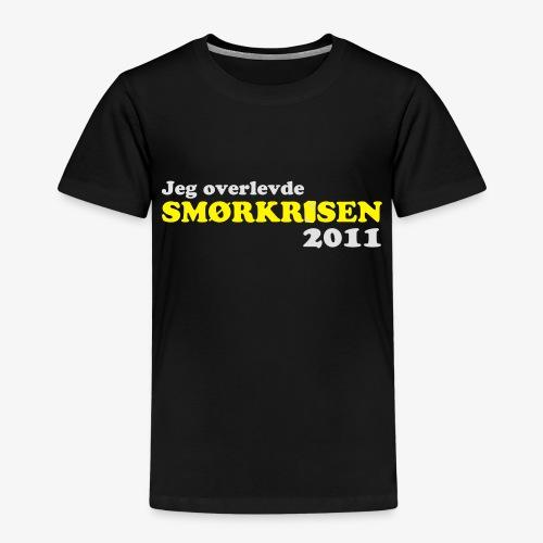 Smørkrise 2011 - Norsk - Premium T-skjorte for barn