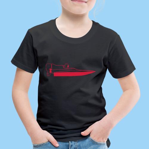 Powerboat GT30/GT15 Red - Premium-T-shirt barn