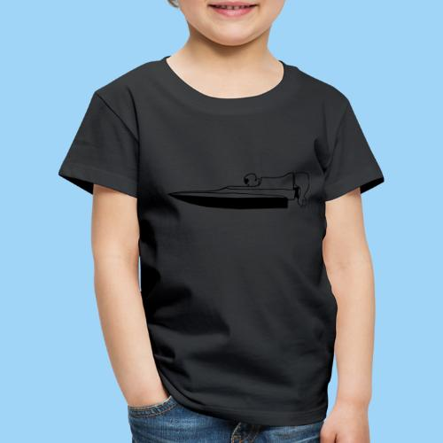 Powerboat GT30/GT15 Black flip - Premium-T-shirt barn