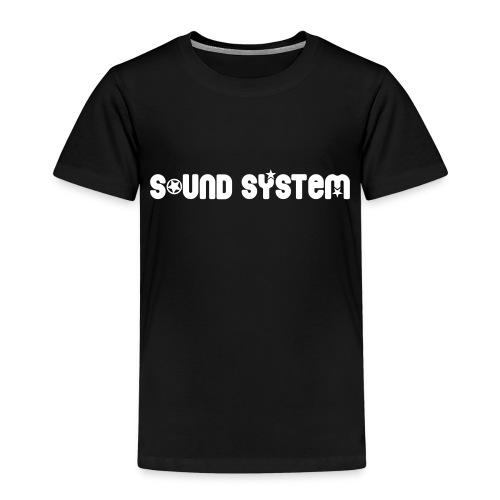 Sound System - T-shirt Premium Enfant