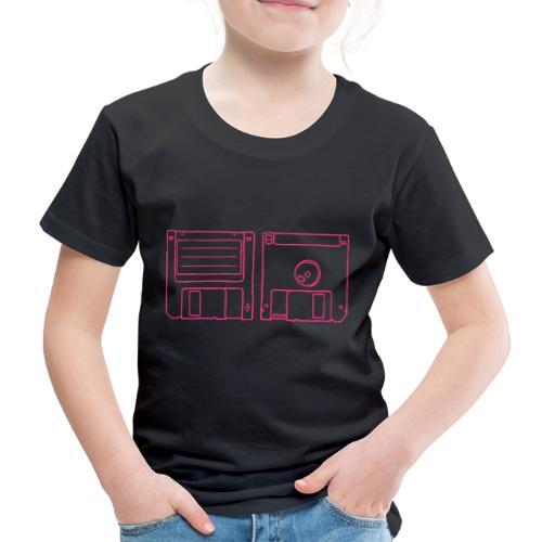 Diskette (3,5-Zoll) - Kinder Premium T-Shirt