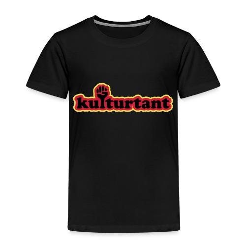 KULTURTANT - Premium-T-shirt barn