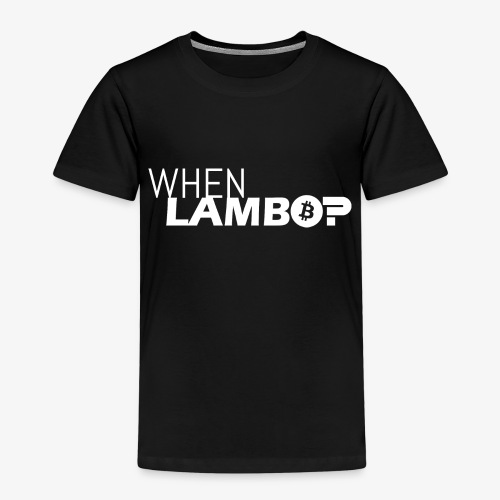 HODL-when lambo-w - Kids' Premium T-Shirt