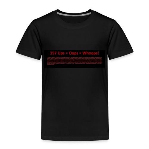 Ups survived back - Kinder Premium T-Shirt