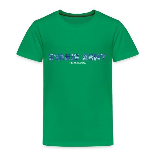 SVANIS ARMY, SWEDISHGAMING - Premium-T-shirt barn