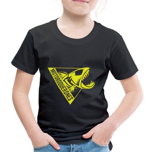 Logo Motoboquerones amarillo - Camiseta premium niño