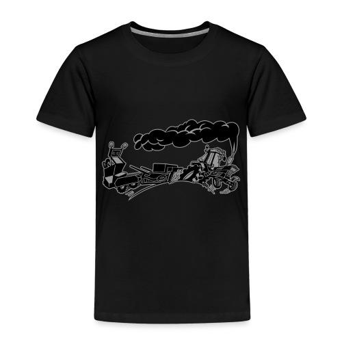 Pulling IH duotone - Kinderen Premium T-shirt