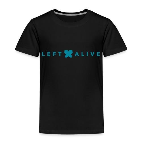 Logo Left Alive line - Kinderen Premium T-shirt