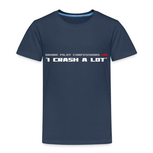 I CRASH A LOT - Kids' Premium T-Shirt