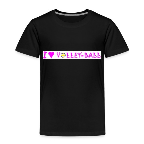 T shirt volley I love volleyball - T-shirt Premium Enfant