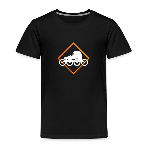 Speedskating Orange - Kinder Premium T-Shirt
