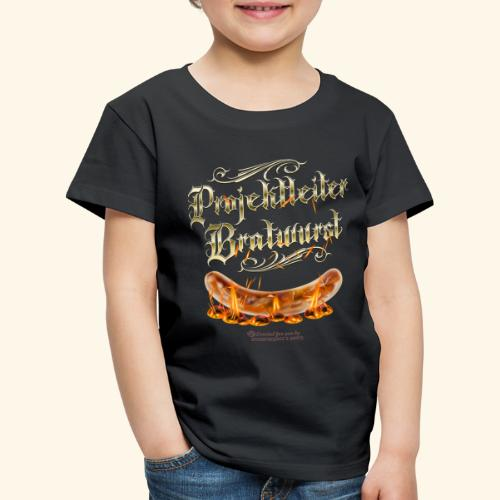 Projektleiter Bratwurst Spruch für Grillen & BBQ - Kinder Premium T-Shirt