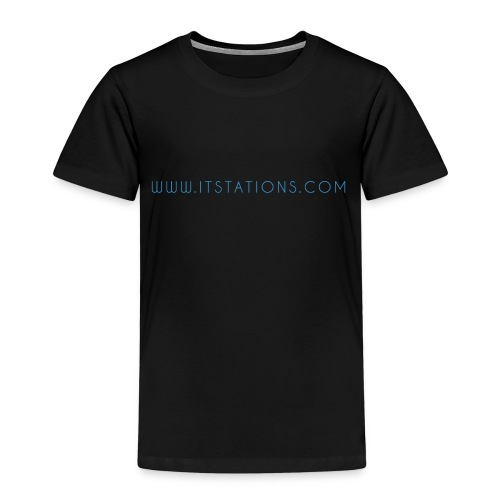 WWW ITSTATIONS COM TEXTE MUGS 2 png - T-shirt Premium Enfant