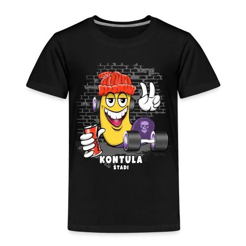 KONTULA SKATE - STADI - Skater Helsinki - Lasten premium t-paita