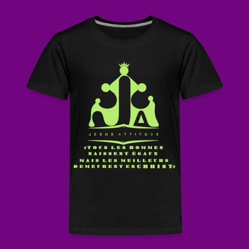 tous les hommes naissent égaux... - T-shirt Premium Enfant