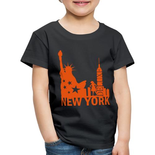 New York City Deluxe - Kinder Premium T-Shirt