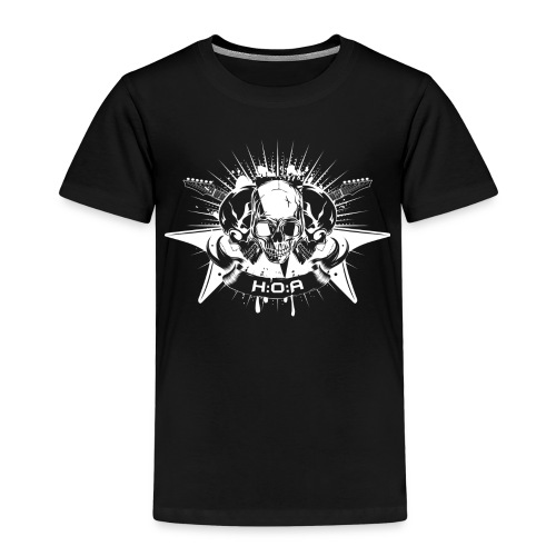 H:O:A Logo White - Kinder Premium T-Shirt