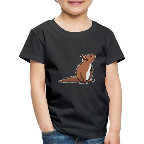 Eichhörnchen, Nagetier, Tier, süß, Geschenkidee - Kinder Premium T-Shirt