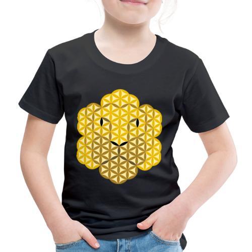 The Lion Of Life - Alpha Male, Crown 02 - Kids' Premium T-Shirt