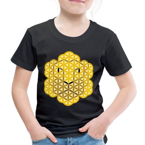 The Lion Of Life - Alpha Male, Mane 02 - Kids' Premium T-Shirt