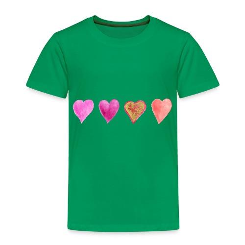 Herzen - Kinder Premium T-Shirt