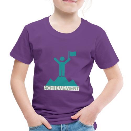 Typo Achiement by CloudMonde - Kids' Premium T-Shirt