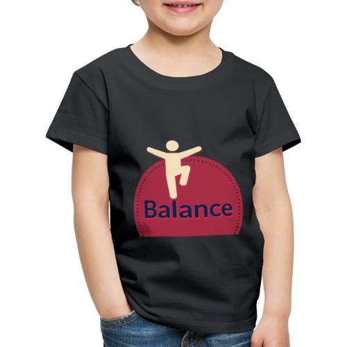 Balance red - Kids' Premium T-Shirt