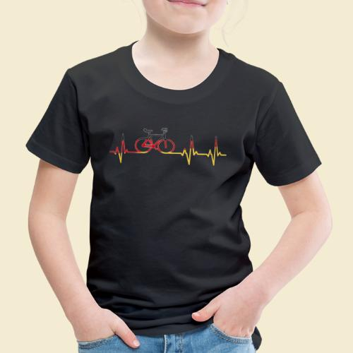 Kunstrad | Artistic Cycling Heart Monitor Germany - Kinder Premium T-Shirt