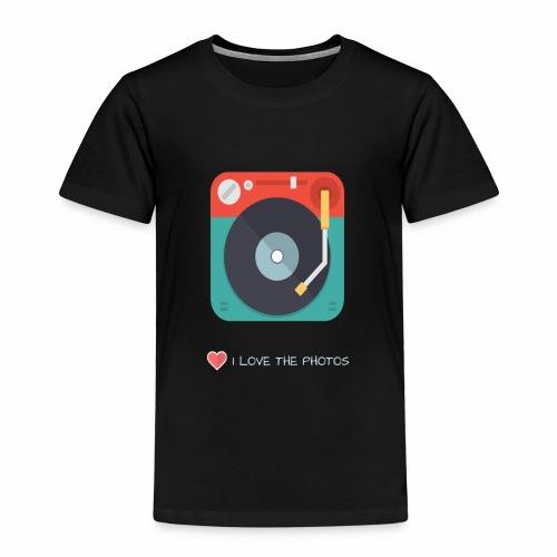 I LOVE THE PHOTOS - Camiseta premium niño