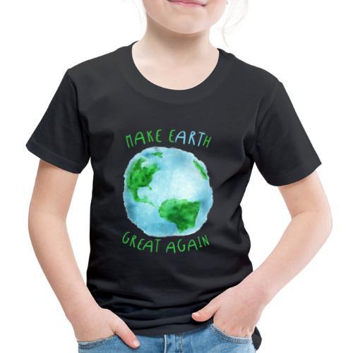 EARTH - Camiseta premium niño