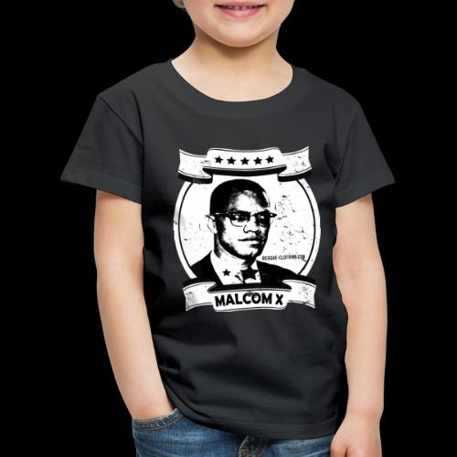 Malcom X Classic - Kinder Premium T-Shirt