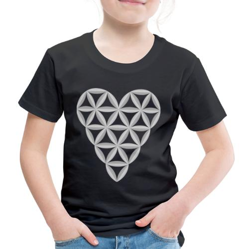 The Heart of Life x 1, New Design /Atlantis -01 - Kids' Premium T-Shirt