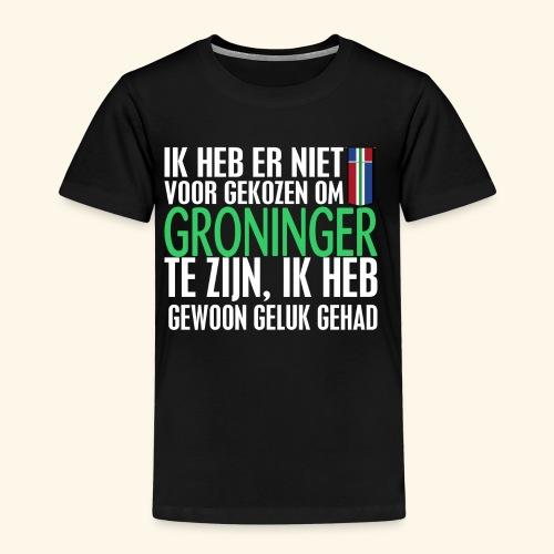 Heb er niet voor gekozen om Groninger te zijn... - Kids' Premium T-Shirt