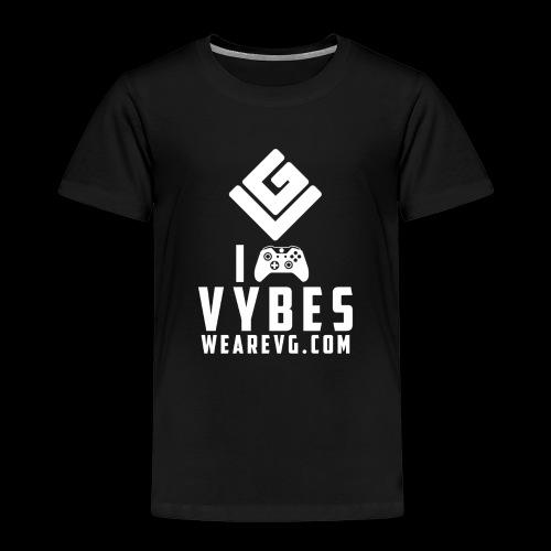 Logo-3 White - Kids' Premium T-Shirt