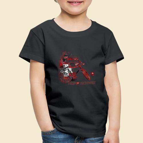 Radball   Hopp Schwiiz - Kinder Premium T-Shirt