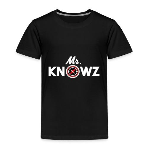 Mr Knowz merchandise_v1 - Kids' Premium T-Shirt