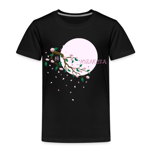 Cherry Blossom Festval Full Moon 1 - Kinder Premium T-Shirt