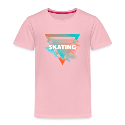 Skating Diffus - Kinder Premium T-Shirt