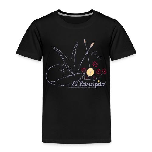 ES Der kleine Prinz Fuchs Line Art - Kinder Premium T-Shirt