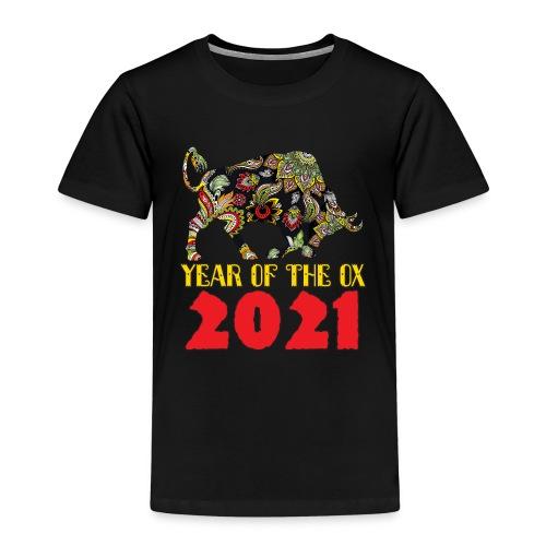 Happy Chinese New Year 2021 - Year Of The Ox - Kids' Premium T-Shirt