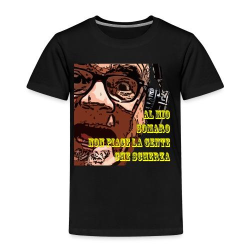 Caro Carlo mio somaro - Maglietta Premium per bambini