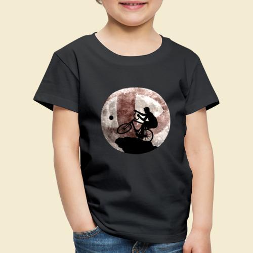 Radball | Cycle Ball Moon - Kinder Premium T-Shirt