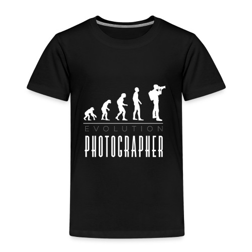 Photographer evolution - Kinder Premium T-Shirt