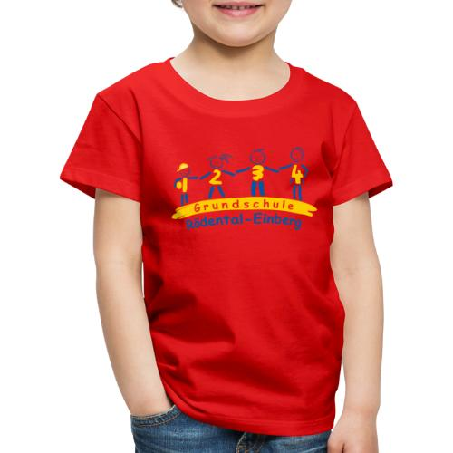 VORNE schule logo Kopie png - Kinder Premium T-Shirt