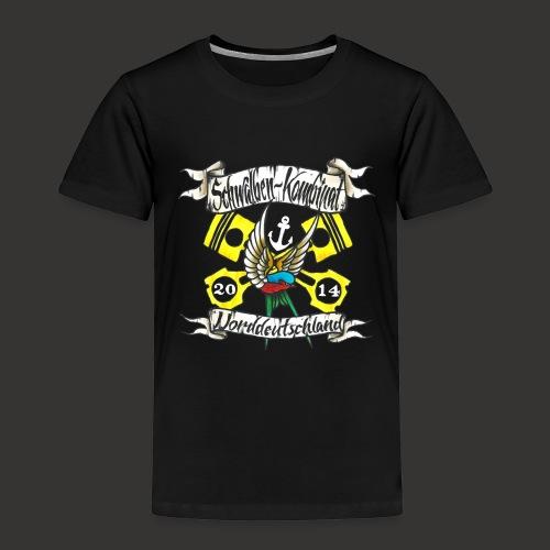 LOGO-SKN14 weiß - Kinder Premium T-Shirt