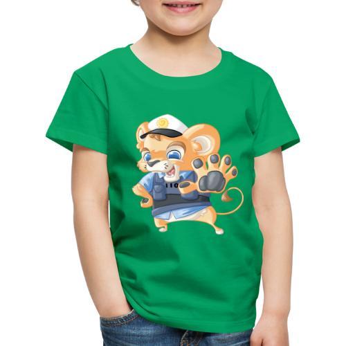 Polizei Löwe - Kinder Premium T-Shirt