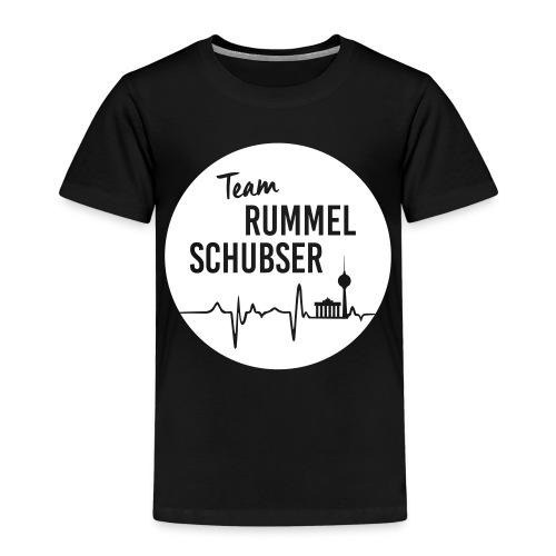 Team RS in rund und weiß - Kinder Premium T-Shirt
