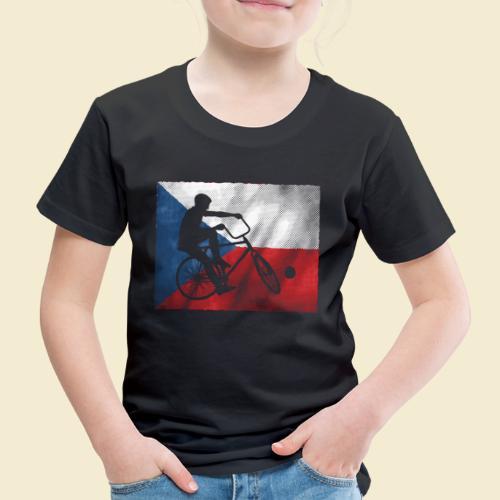 Radball   Flagge Tschechien - Kinder Premium T-Shirt